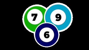 Auf diesem Bild sieht man drei ineinander verlaufende Kreise, in denen die Zahlen 7, 6 und 9 stehen. Die Zahlen stehen jeweils in einem weißen Kreis der von einem bunten Kreis umrundet wird. Die Zahl 7 hat als Hintergrund Kreis einen grünen Kreis mit weißem Rand. Die Zahlen 9 einen hellblauen Hintergrund Kreis mit weißer Umrandung. Die Zahl sechs einen dunkelblauen Hintergrund Kreis mit weißer Umrandung. Der gesamt Hintergrund des Bildes ist in hellgrau.